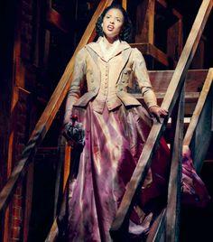 Renée Elise Goldsberry as Angelica Schuyler in Hamilton