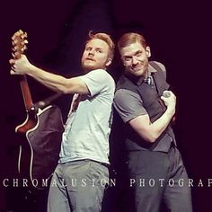 Shinedown - Zach Myers and Brent Smith