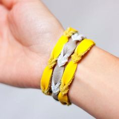 How to make a leather friendship bracelet   Guidecentral