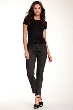 Camo Ankle Cut Jean