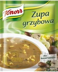 Knorr zupa grzybowa 50g - Schodzi.pl