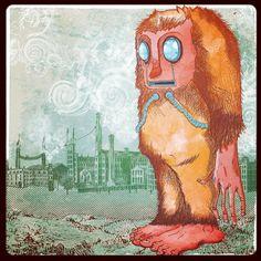 Monkey business, a pachas con Ruben by DAROMU, via Flickr