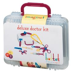 This Deluxe Doctor Kit is great for girls as they love looking after people and making them better...