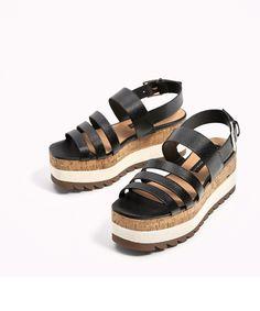 Flatform sandals /plataforma zara spring zummer 2017