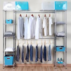 Todo en su lugar on pinterest closet tes and tela for Closet armables economicos