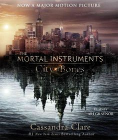 City of Bones. Anyone else notice the institute in the reflection on the water?