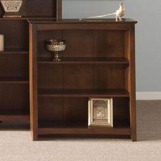 Small Bookshelf Ideal Vertical Mini Wooden Wall Book