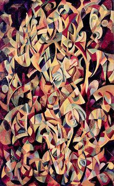 Alexander Rodchenko, Dance. An Objectless Composition, 1915