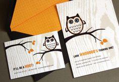 Unique Wedding Invitations & Stationery by Beleza Design Owl Birthday Invitations, Unique Wedding Invitations, 1 Year Old Birthday Party, Birthday Ideas, Party Themes, Party Ideas, First Birthdays, Stationery, Boise Idaho
