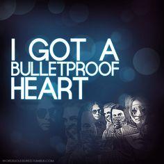bulletproof heart my chemical romance lyrics - Google Search