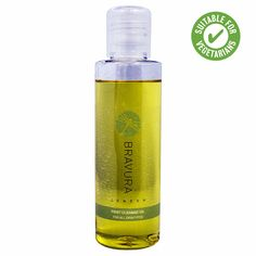 Bravura London, First Cleanse Oil --> Why an oil cleanser? Oil is fantastic to cleanse with because oil attracts oil, dirt and grime, it also dissolves tough products like waterproof mascara...