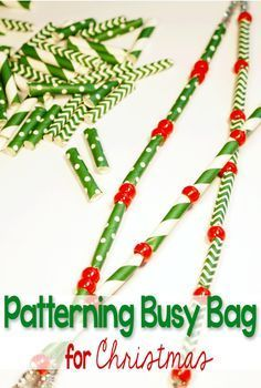 This patterning busy