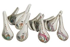 Chinese Soup Spoons, Set of 12 on OneKingsLane.com