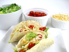 Oh Boy, Skinny Taco Night with Weight Watchers Points | Skinny Kitchen
