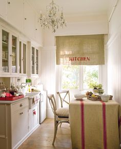 Even small kitchens can be charming