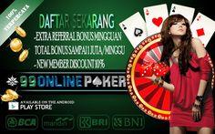 Situs Judi Domino : 99onlinepoker Cara Penting Hack Domino Online Indonesia Dengan Cerdik, Agar Bisa Mendapatkan Chip Yang Banyak Dengan Mudah & Cepat