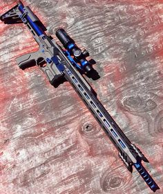 Tactical Rifles, Firearms, Sniper Rifles, Weapons Guns, Guns And Ammo, Custom Guns, Custom Ar, Submachine Gun, Military Guns