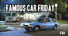 It's Famous Car Friday! Can you name the car and the film it was made famous by? #car #movies