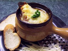 French Onion Soup from Food.com:   								Very good! Easy to make.