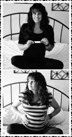 The Pregnancy Test & 8 Months Later !! Pregnancy Months, Pregnancy Test, Pregnancy Photos, Maternity Photos, 8 Months, Baby Coming, Photo Booth, Nursery, Baby Shower
