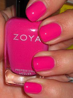 Zoya-Lara = great summer color!