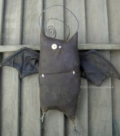 Kevin the Bat A Primitive Pattern from Raven's by thegoodewife