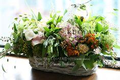 꽃바구니,플라워바스켓(Flower Basket)_[플라워스쿨,루시안]전문가반플라워레슨 :: 네이버 블로그