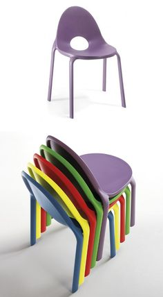 Stackable polypropylene #chair DROP by Infiniti by OMP Group | #design Andrea Radice Folco Orlandini design studio @infinitidesign