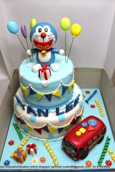 Doraemon Cake | Sensational Cakes Singapore