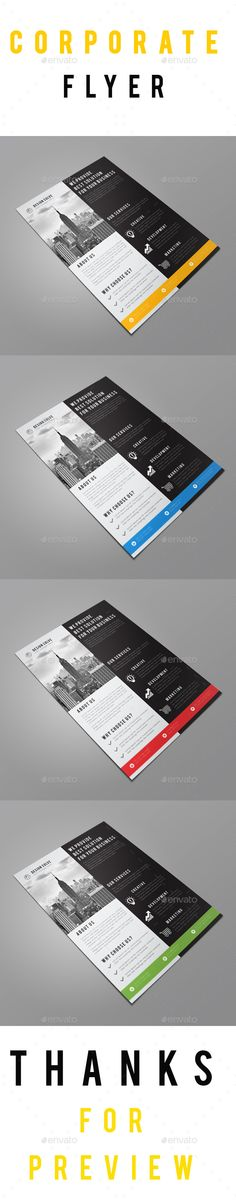 Corporate Flyer Template Vector Eps Ai Illustrator Download Here