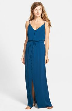 Paige Denim 'Lyssa' Maxi Dress available at #Nordstrom
