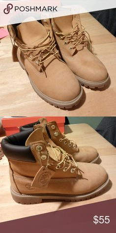 Kids 6.5 timberland STEAL Kids size 6.5 timberland steal WATERPROOF NO BOX size 9 women. 9/10 condition. Timberland Shoes Boots