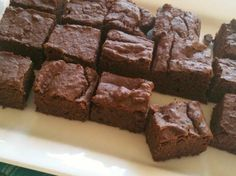 clean black bean brownies..... after making a couple minor adjustments