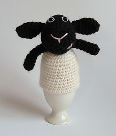 Ravelry: Lamb Egg Cosy pattern by Oliver Boliver