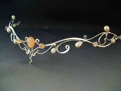Aurora Circlet - $219.99 : Medieval Bridal Fashions, Circlets, Headpieces, Necklaces and Bracelets for your Renaissance, Celtic or Elven Wedding!