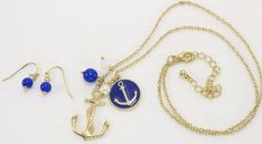 Nautical fashion is year round at the shore. Anchors are a must here.