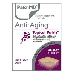 Share and save 10% off your first order! Anti-Aging Topical Vitamin Patch (30-Day Supply) by PatchMD #BariatricPalStore