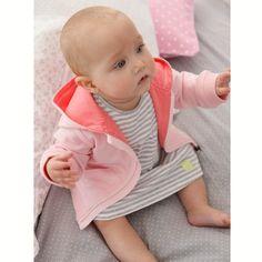 Robe rayée coton bio bébé fille, Cocoon