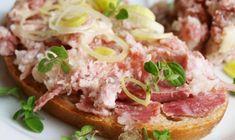 domaci veprovka Salmon Burgers, Preserves, Potato Salad, Sandwiches, Recipies, Paleo, Gluten Free, Cooking Recipes, Beef