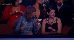 When she was more excited about Lorde winning an award than Lorde herself.