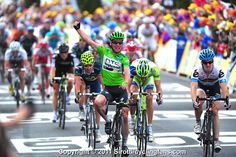 And Cavendish for the win! Sorry Tyler Farrar...