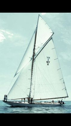 Possibly the greatest sail boat on this planet!