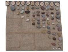 """Counting stones - from Rachel ("""",)"""