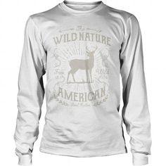 The Wild Nature American Hunter T-Shirt