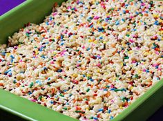 I just found this recipe and had to share it for other cake batter lovers. I am going to make these tomorrow =) Recipe and picture are from gimmemesomeoven.com
