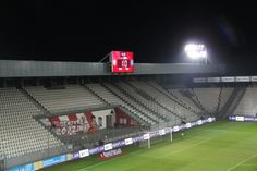 A #WorldCup qualifier played with 'ghosts' in the stands.   #UKRvKOS in #POL.