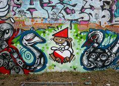 KBTR - street art - The graffiti artist in Utrecht