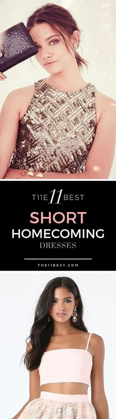 The 11 Best Short Homecoming Dresses