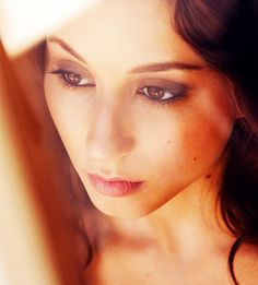 the beautiful Trioan Bellisario (Spencer Hastings <3 my fave <3) from Pretty Little Liars