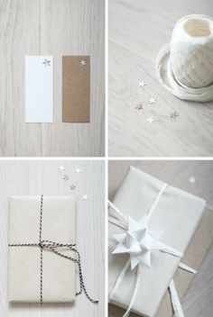 Hole punched tags ♥